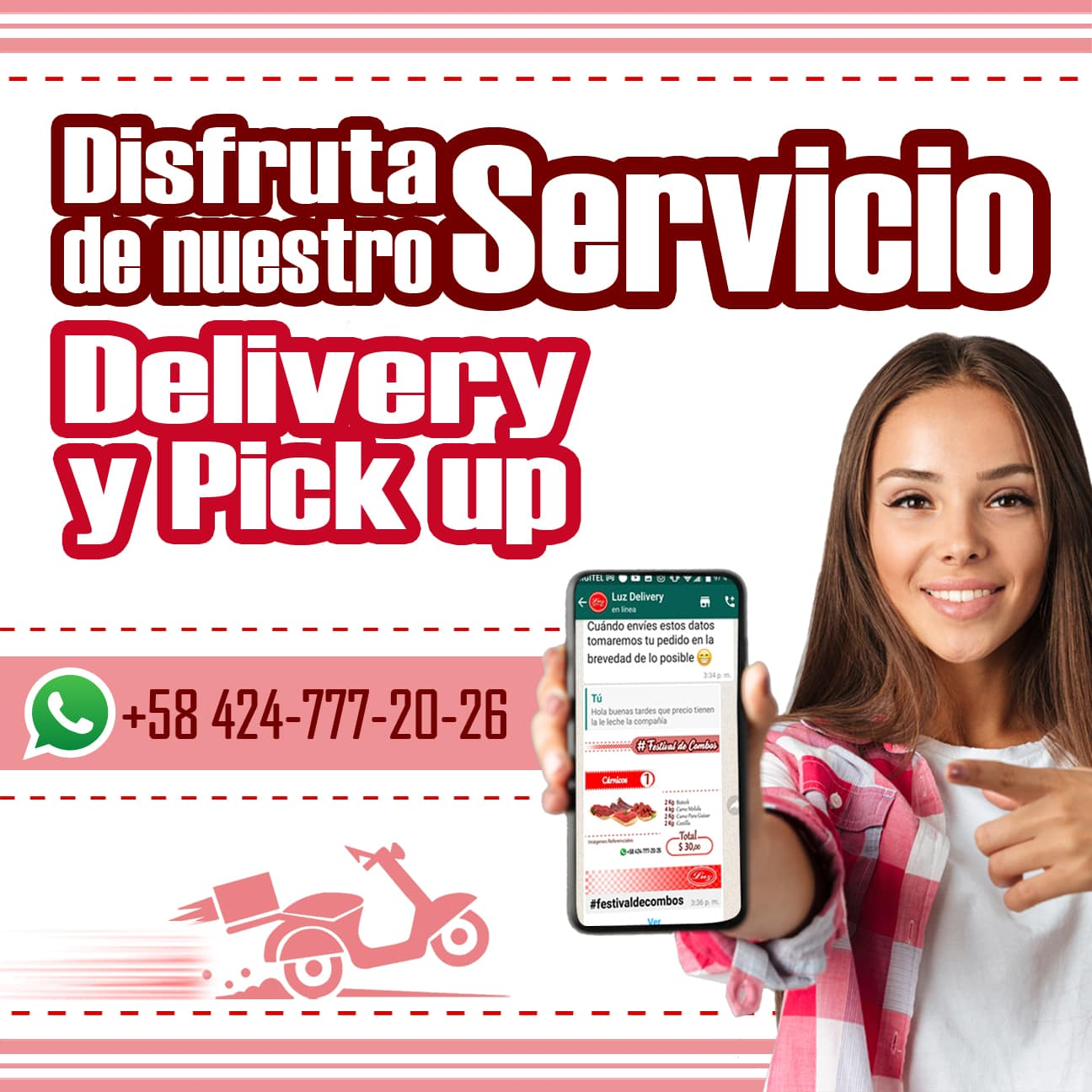 Delivery & Pick up